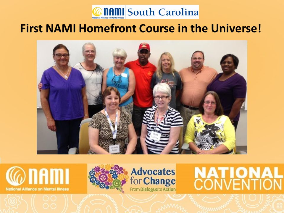 First NAMI Homefront Course in the Universe!