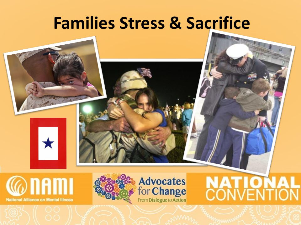 Families Stress & Sacrifice
