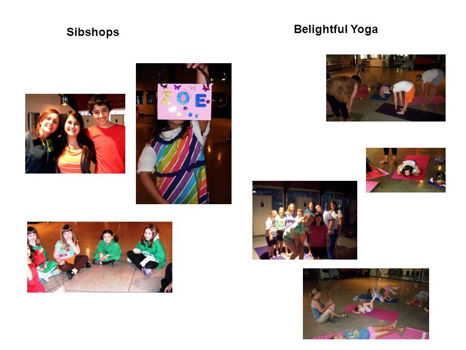 Sibshops Belightful Yoga