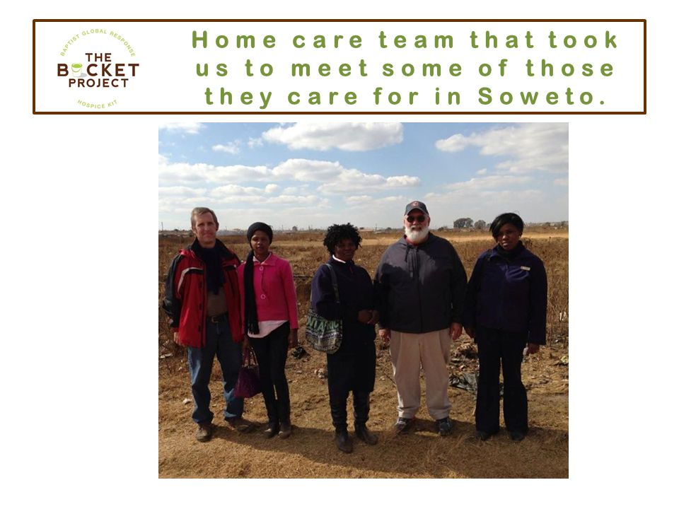 Homes in Soweto community.