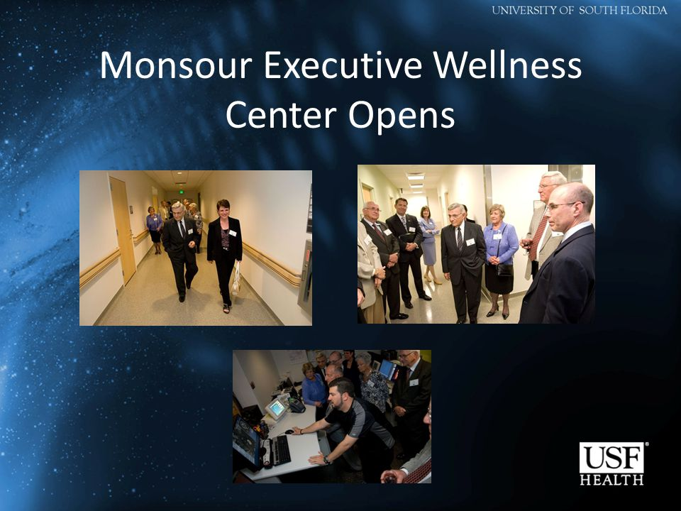 Monsour Executive Wellness Center Opens