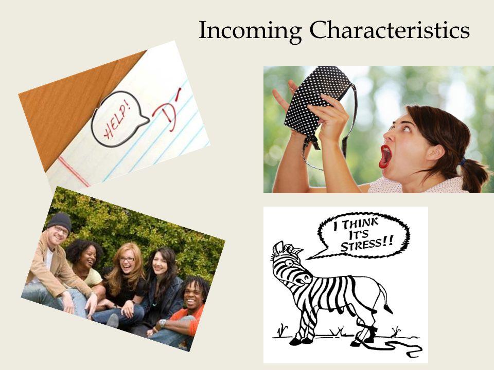 Incoming Characteristics