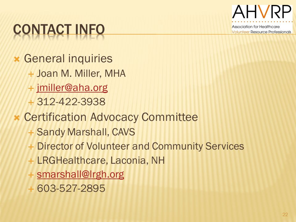  General inquiries  Joan M.