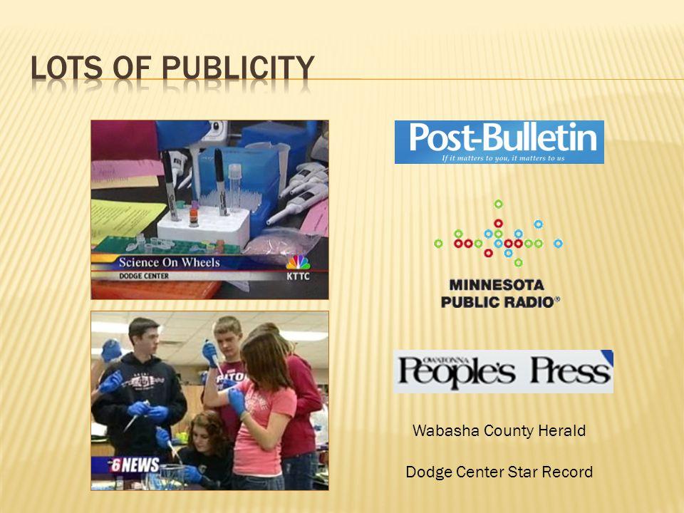 Wabasha County Herald Dodge Center Star Record