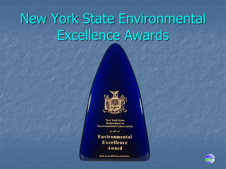 New York State Environmental Excellence Awards