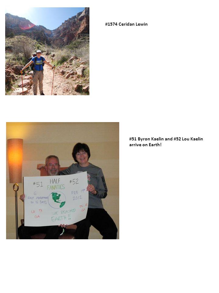#1574 Ceridan Lewin #51 Byron Kaelin and #52 Lou Kaelin arrive on Earth!