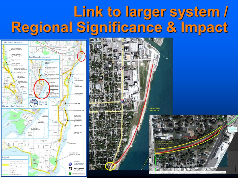 Link to larger system / Regional Significance & Impact