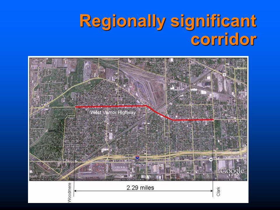 Regionally significant corridor