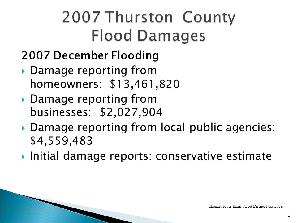 Thank You! Chehalis River Basin Flood District Formation 25