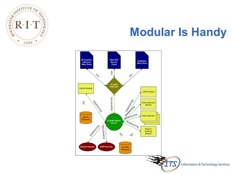 Modular Is Handy