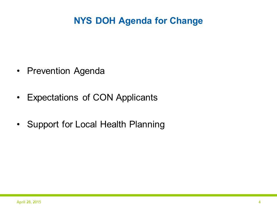 Healthcare in Our Region April 28, 20155