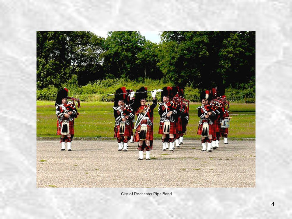 44 City of Rochester Pipe Band