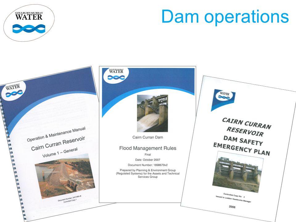 Dam operations