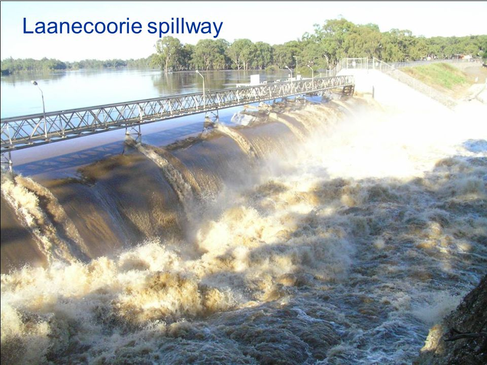 Ovens Goulburn Broken Murray Loddon Bullarook Campaspe Regulated river systems 14,000 customers in 6 irrigation areas (channel network & pumped supply) Channel network Perth Sydney