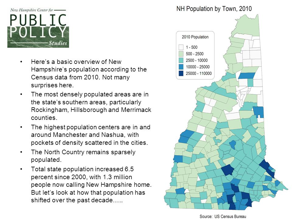 4 This map details where the growth and loss in population, town by town, occurred since 2000.