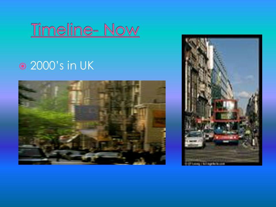 Timeline 1900's in UK 1900's in UK