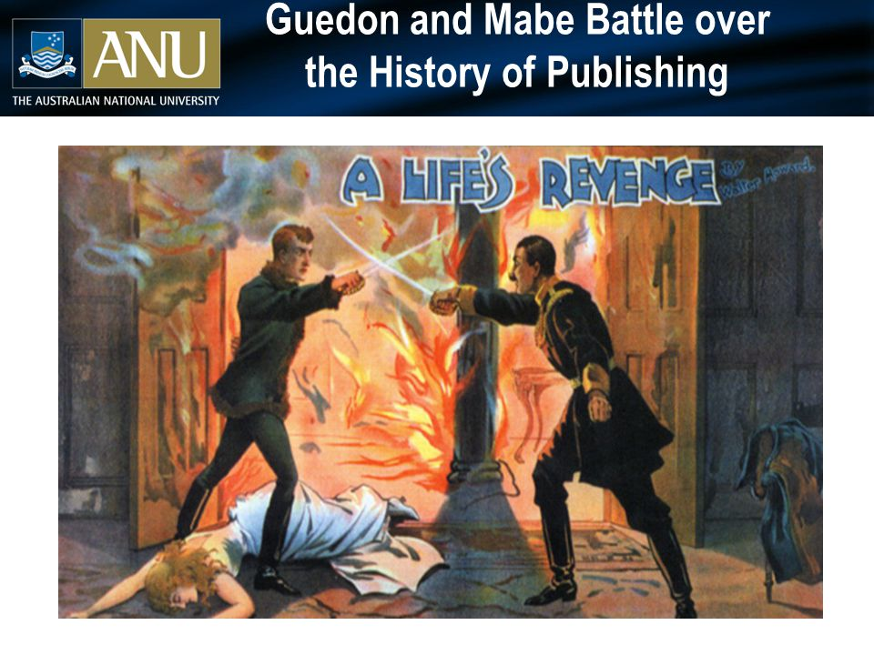 Guedon and Mabe Battle over the History of Publishing