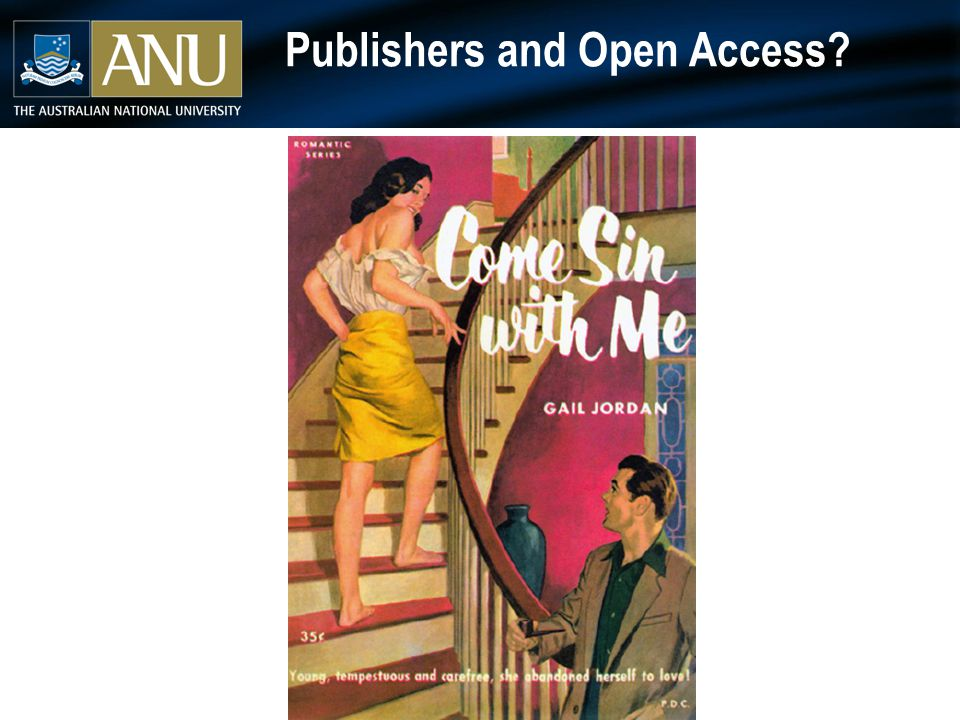 Publishers and Open Access?