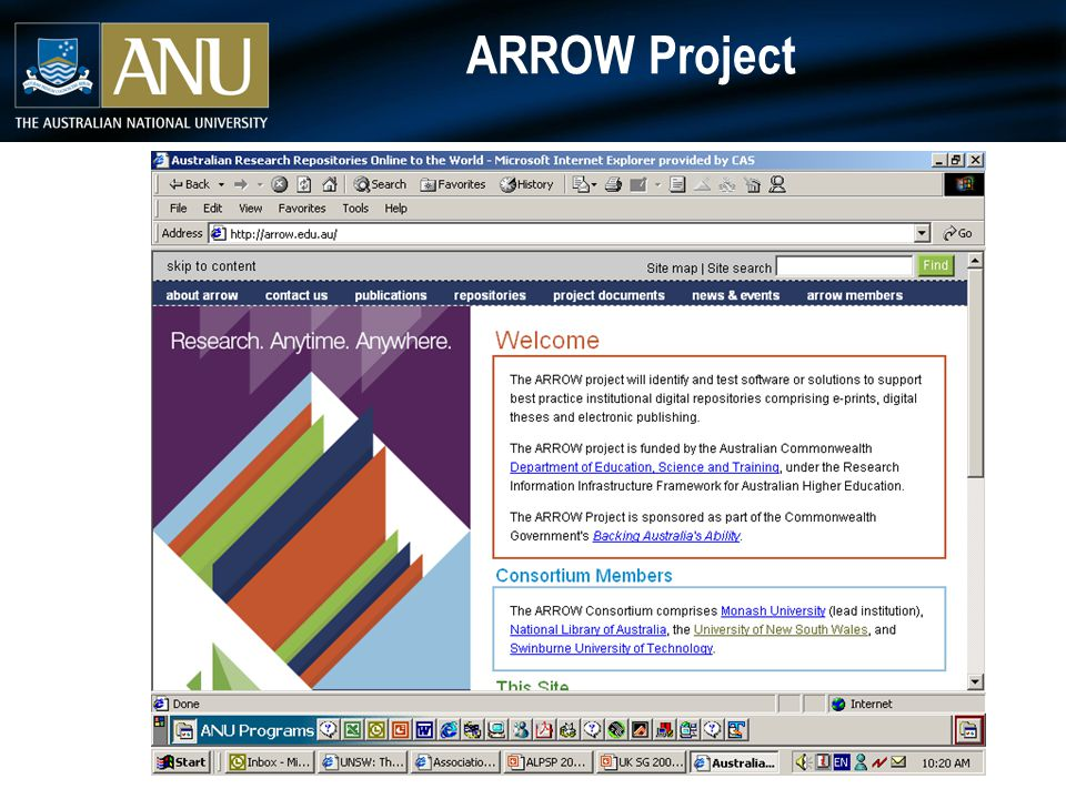 ARROW Project