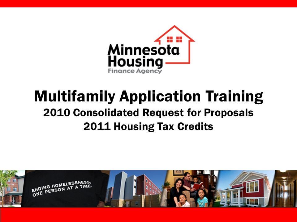 Multifamily Rental Housing Common Application