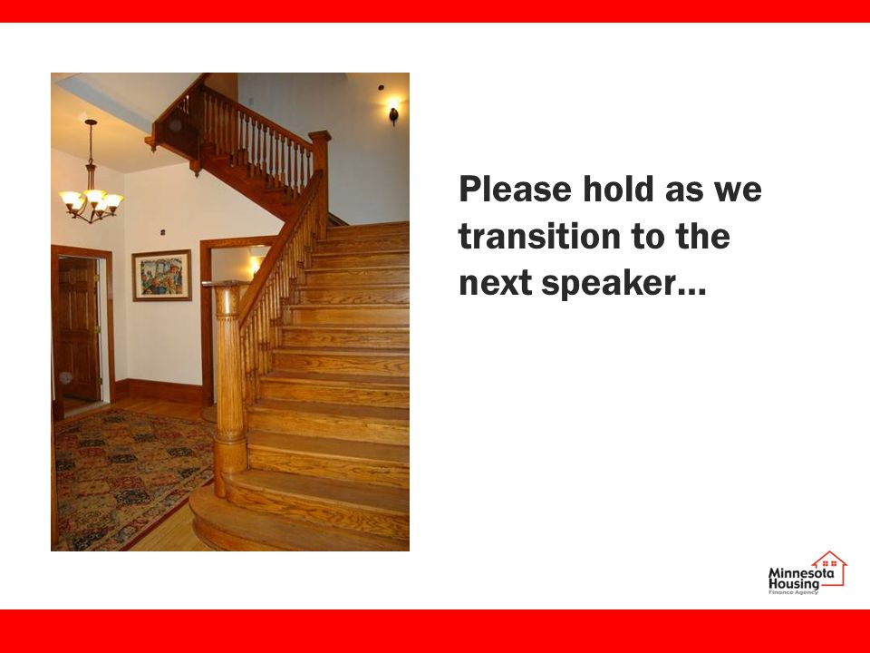 Please hold as we transition to the next speaker…