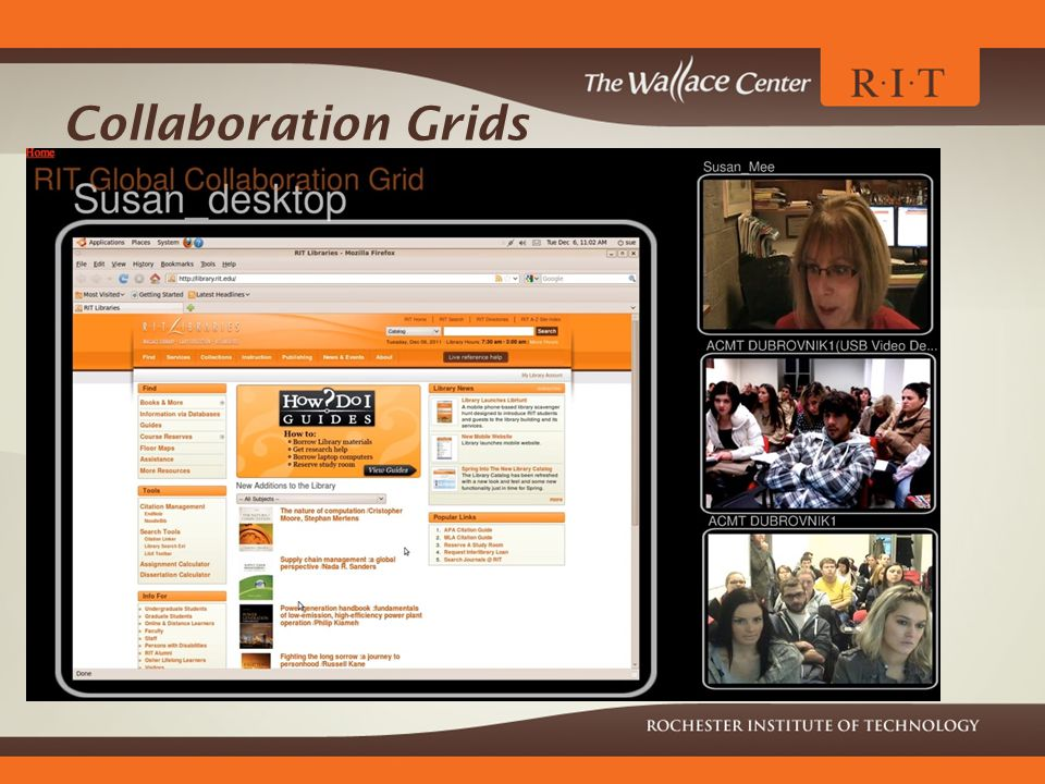 Collaboration Grids