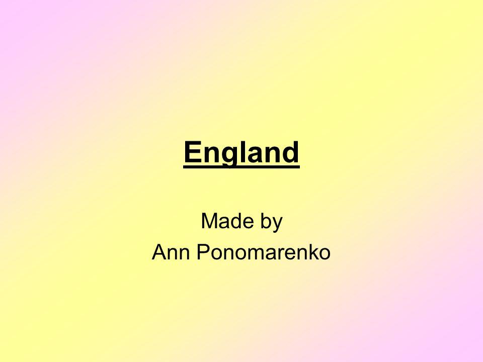 England Made by Ann Ponomarenko