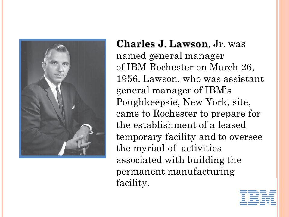 Charles J. Lawson Charles J. Lawson, Jr.