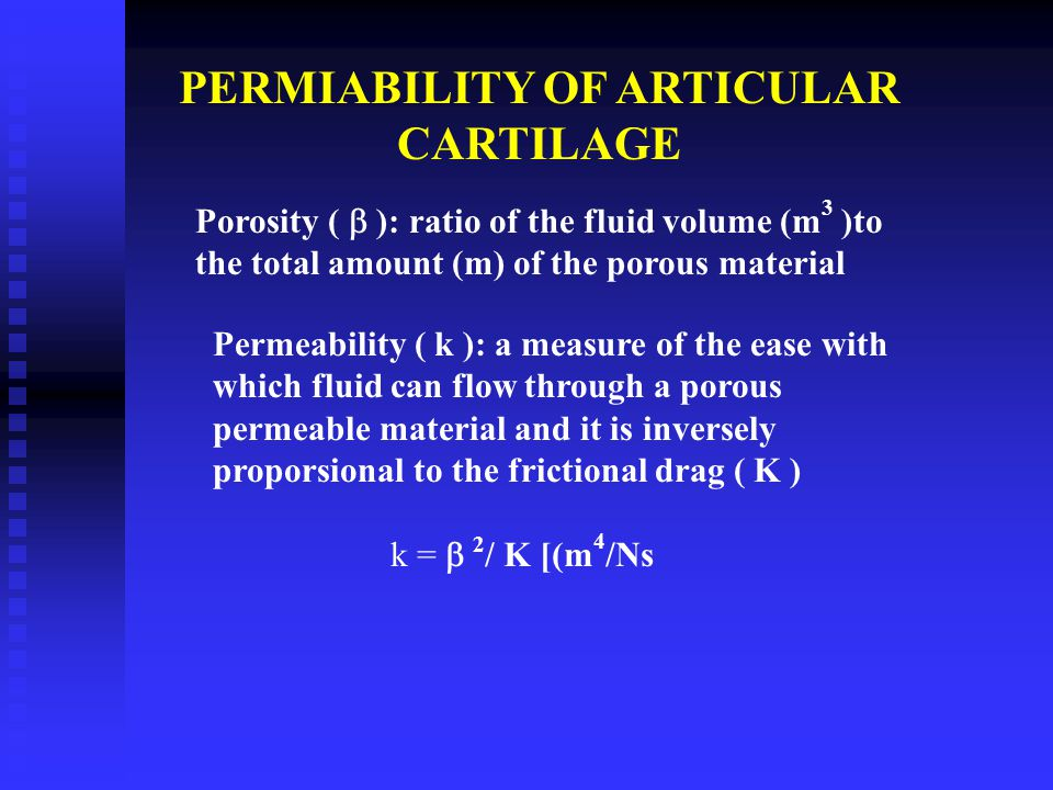 CARTILAGE AS VISCOELASTIC MATERIAL If a material is subjected to the action of a constant (time independent load or constant deformation and its respo