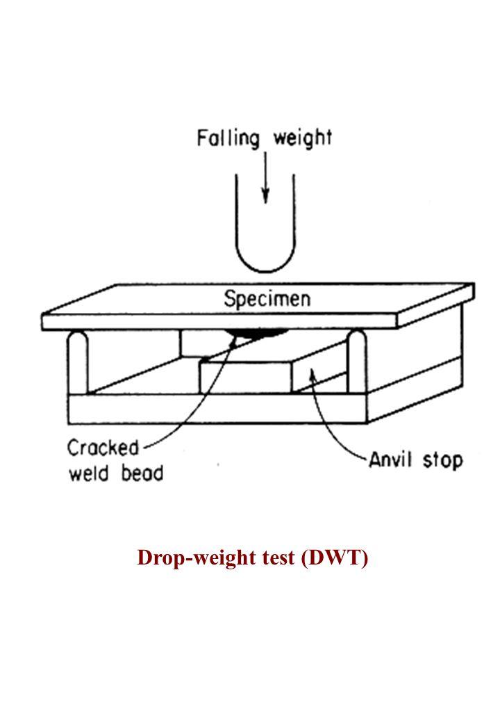 Drop-weight test (DWT)