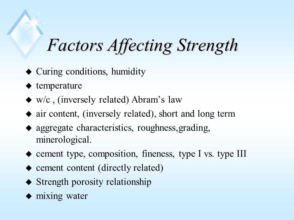 Corrosion Protection u Proper cover of at least 2 u lower w/c u denser concrete u avoid using chlorides