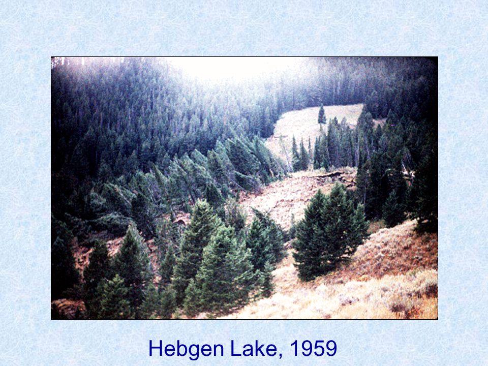 Hebgen Lake, 1959