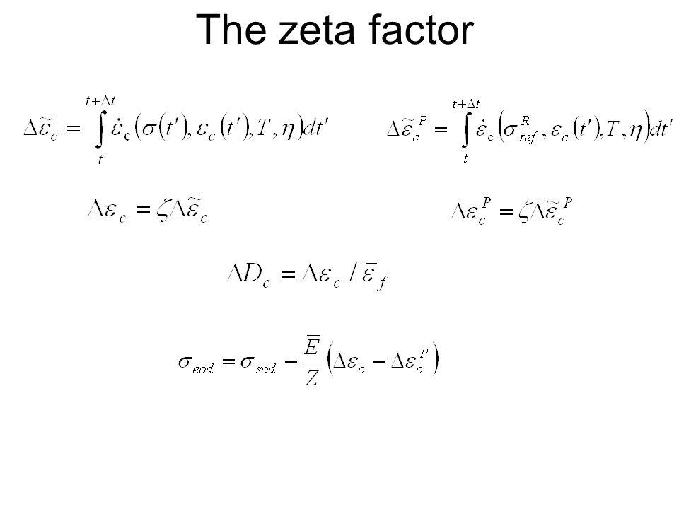 The zeta factor