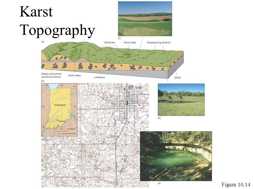 Karst Topography Figure 10.14