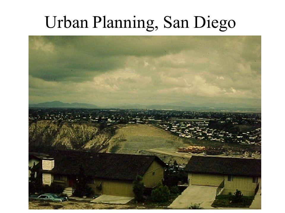 Urban Planning, San Diego