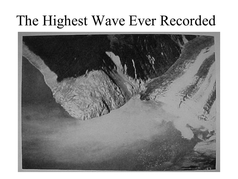 The Highest Wave Ever Recorded