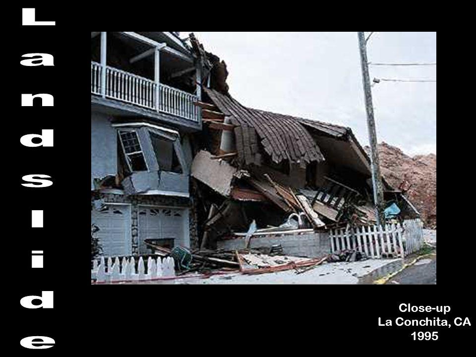 Close-up La Conchita, CA 1995