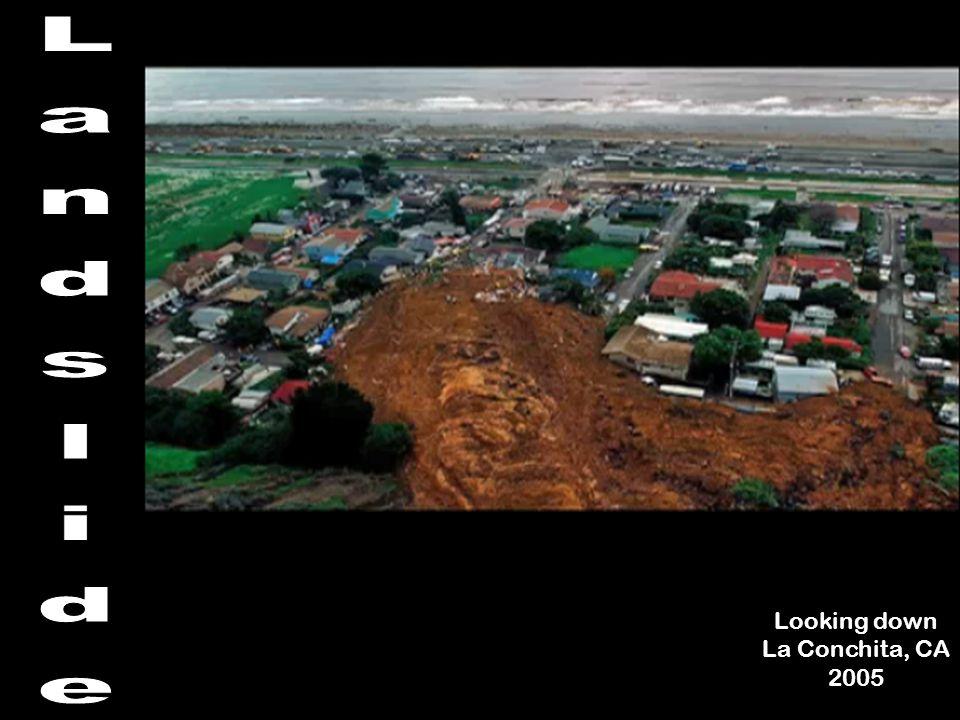 Looking down La Conchita, CA 2005