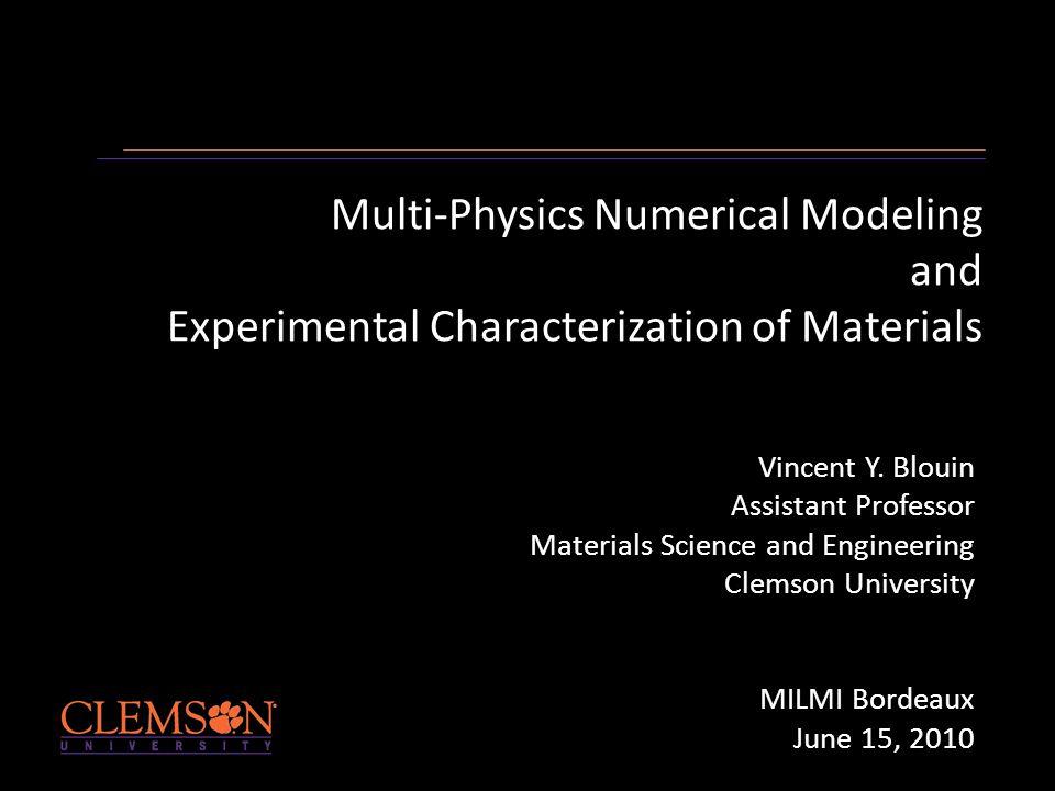 Background Diplome d'ingenieur (Hydrodynamic naval) PhD (Marine Engineering) Post-doc (Mech.