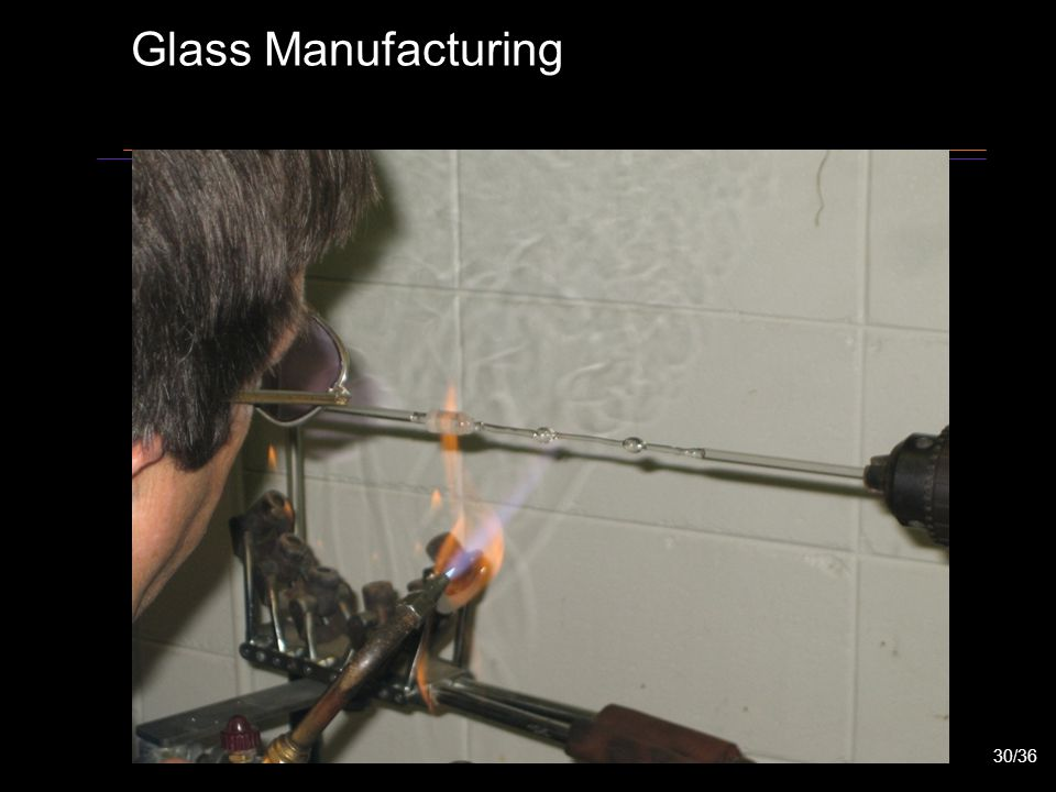 Glass Manufacturing 30/36