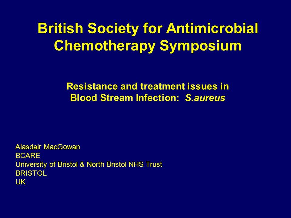 Vancomycin MIC creep in British Isles Reynolds et al 2012, JAC doi 10.1093 - No evidence of upward creep of vancomycin MICs in MRSA 2001-07 (also no change in daptomycin or teicoplanin)