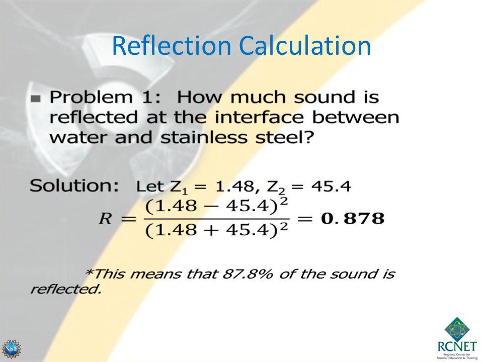 Reflection Calculation