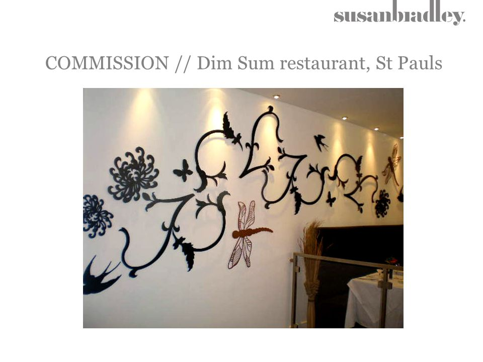 COMMISSION // Dim Sum restaurant, St Pauls