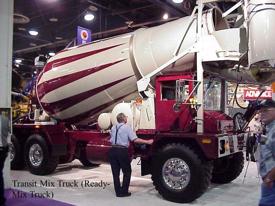 Transit Mix Truck (Ready- Mix Truck)