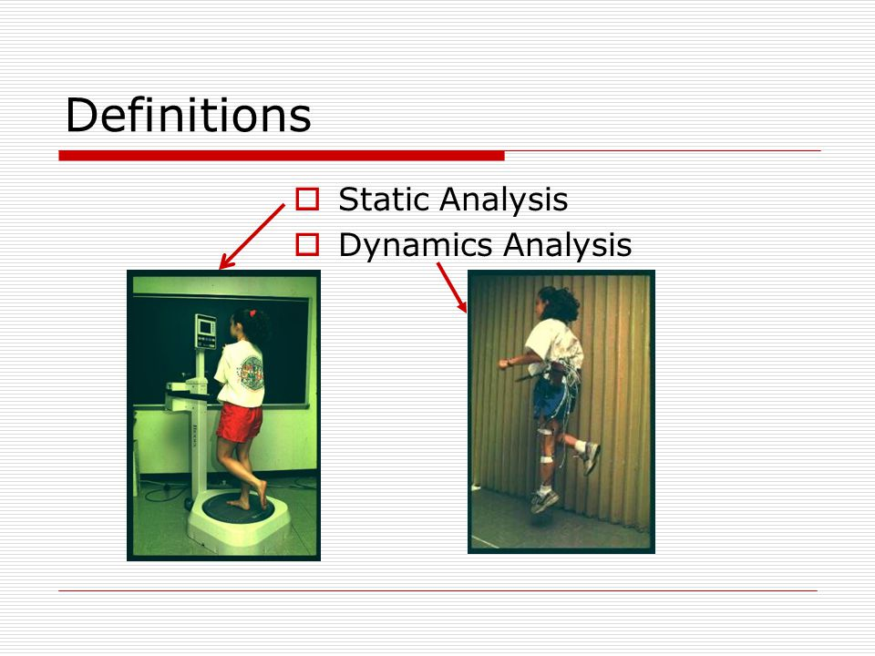 Definitions  Anthropometrics