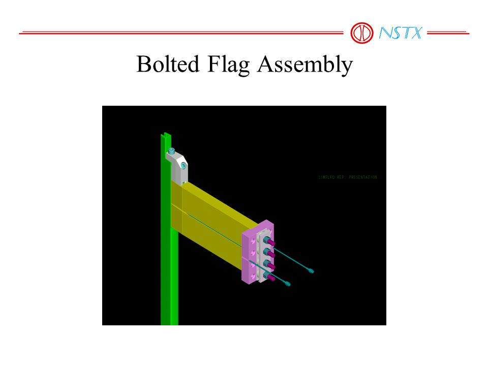 Bolted Flag Assembly