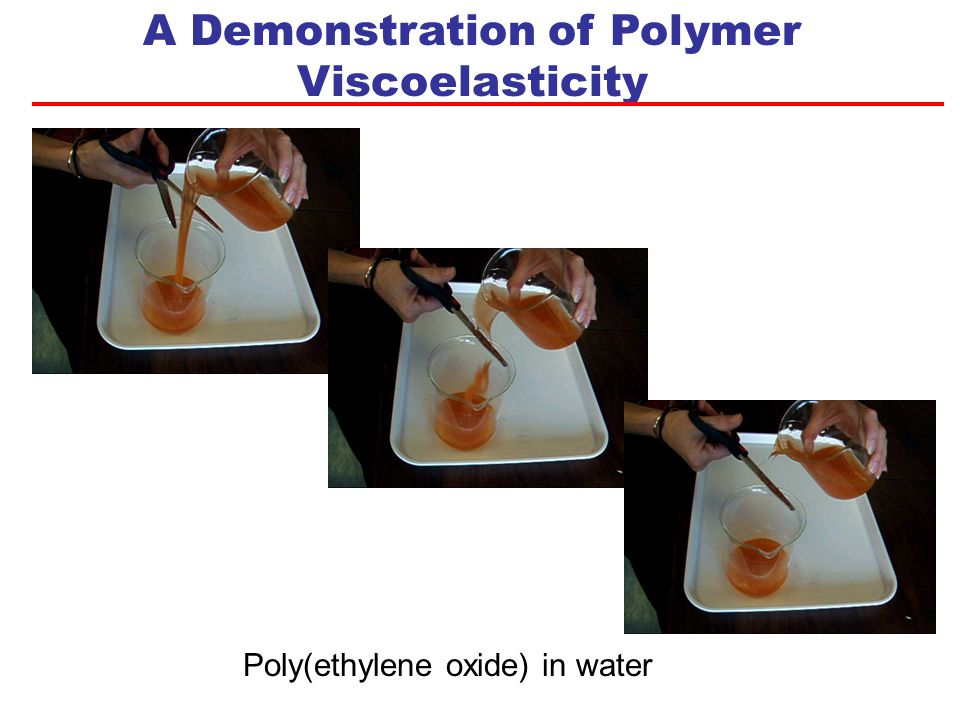 Memory of Previous State Poly(styrene) T g ~ 100 °C