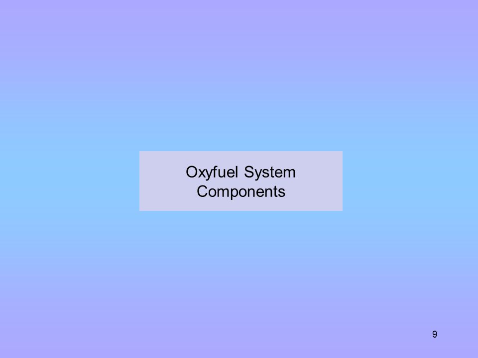 30 PPE What are the three primary hazards associated with oxyfuel systems and how are they managed.
