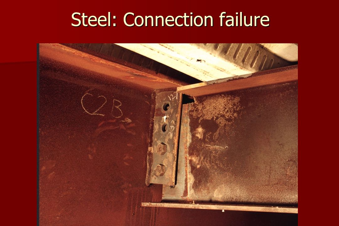 Steel: Connection failure