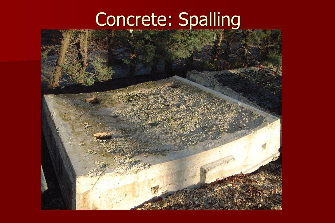 Concrete: Spalling